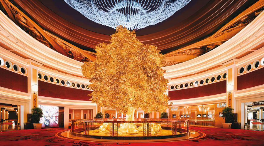ชมฟรี : TREE OF PROSPERITY @ Wynn Macau Hotel